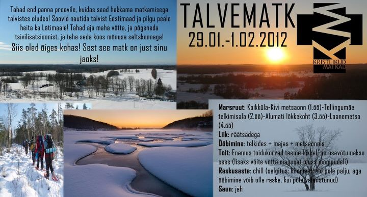 Talvematk 2012!